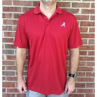 Alabama Red Logo Polo