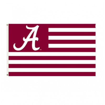 Bama Stripes House Flag