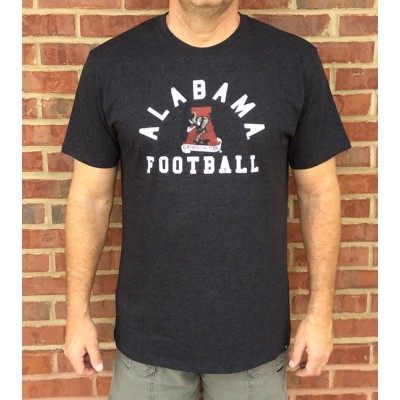 Grey Football Tri-Blend Tee