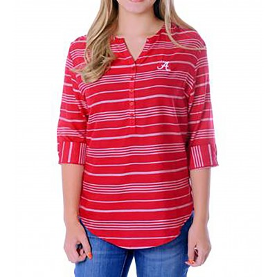 Bama Stripe Tunic Top