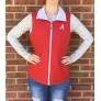 White Crimson Reversible Vest