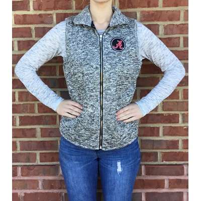 Bama Grey Quilted Vest