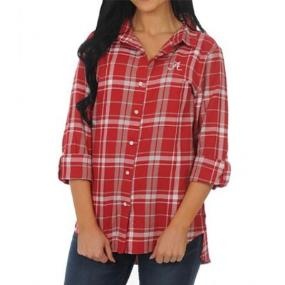 AL Boyfriend Flannel Top