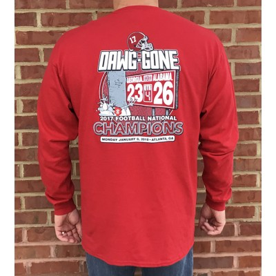 L/S Crimson Adult Scoreshirt