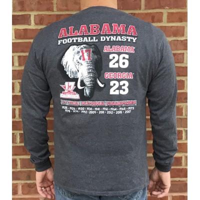 L/S Charcoal Adult Scoreshirt