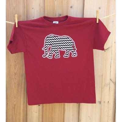 Bama Youth Chevron Shirt