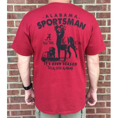 Dog Hunt Crimson Shirt