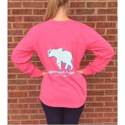 Pink Alabama Big Shirt