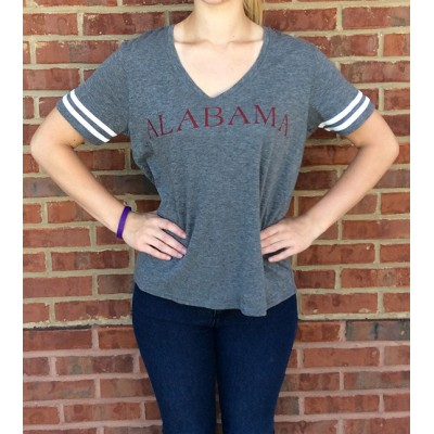 Seaside Grey Slub Top