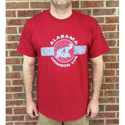 Bama Elephant Crimson Shirt