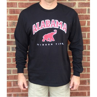 L/S Black Elephant Shirt