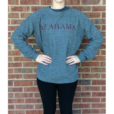 Bama Grey Sherpa Terry