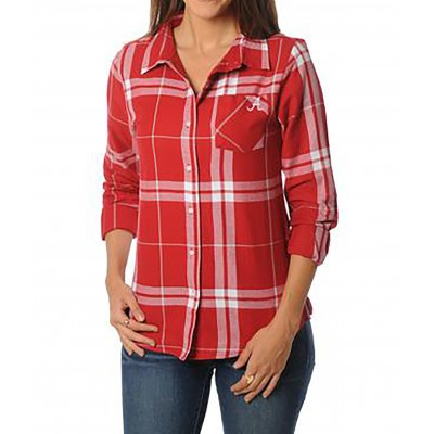 Ladies Bama Flannel Top
