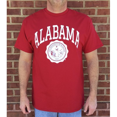 Collegiate Seal Crimson Shirt