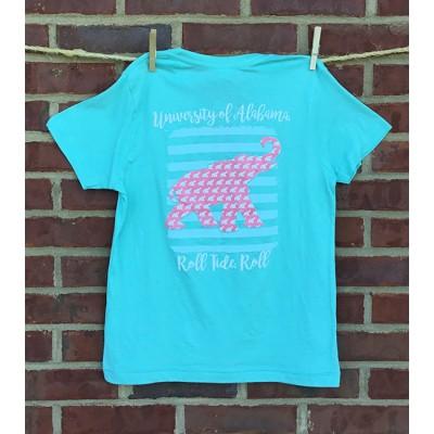 Youth Mint Elephant Shirt