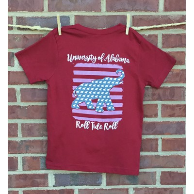 Youth Logo Crimson Shirt