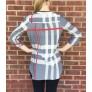 Bama Plaid True Tunic