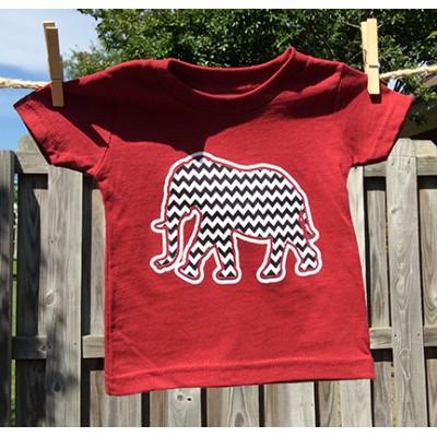 Mascot Toddler Chevron Shirt