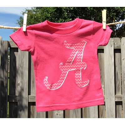 Bama Pink Infant Shirt