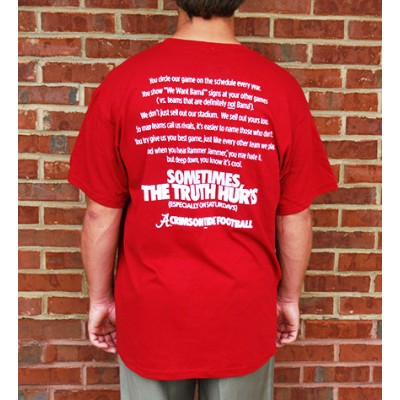 Truth Bama Crimson Shirt