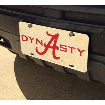 Alabama Car Tag Style 17