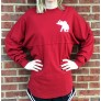 Red Chevron Spirit Jersey