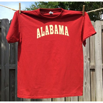 Crimson Retro Youth Shirt