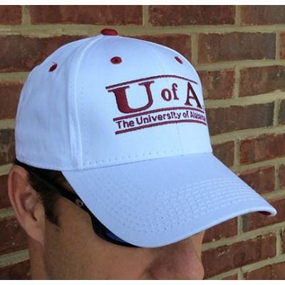 Game White Alabama Cap